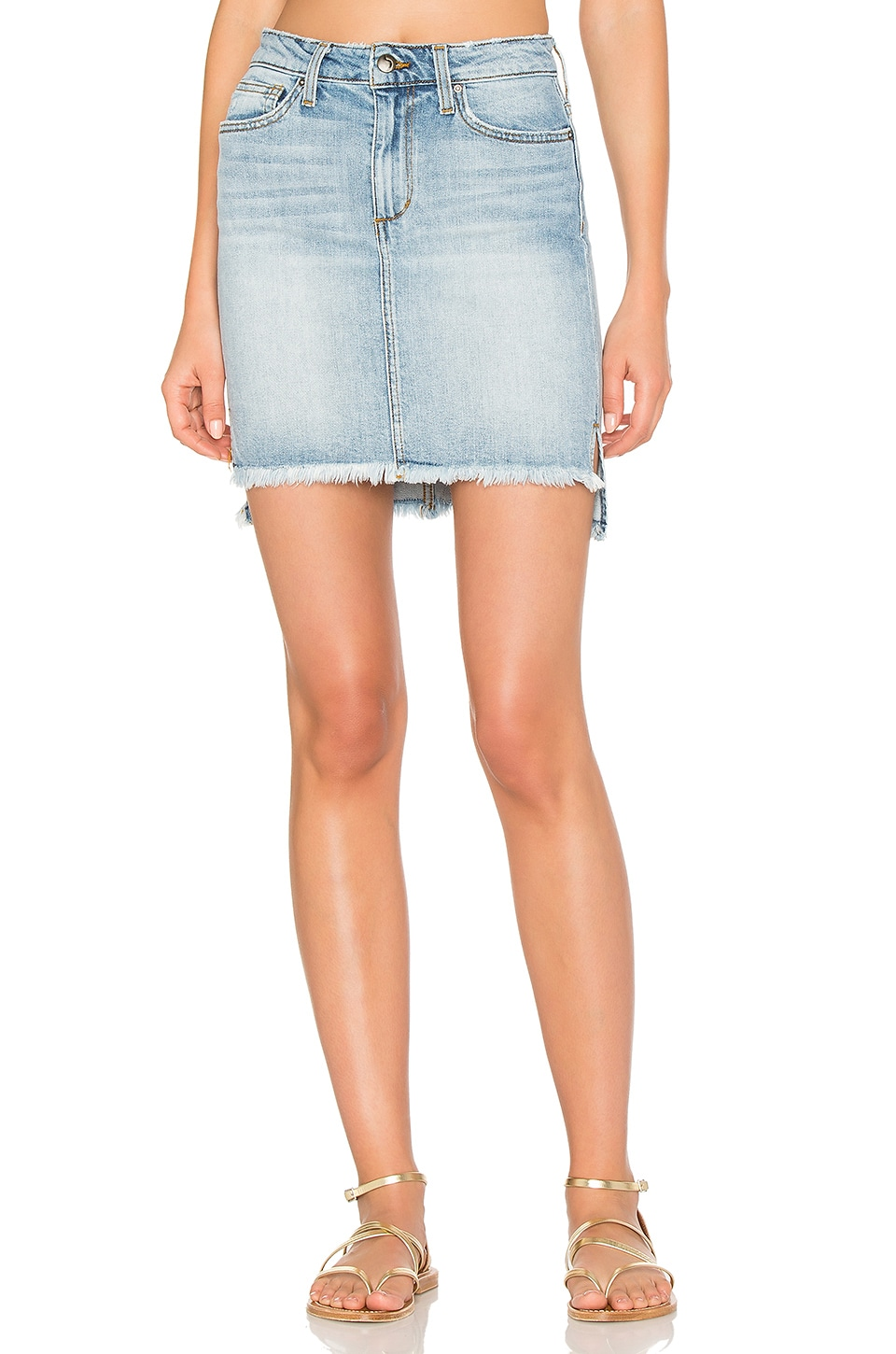 High Low Denim Skirt by Joe's Jeans