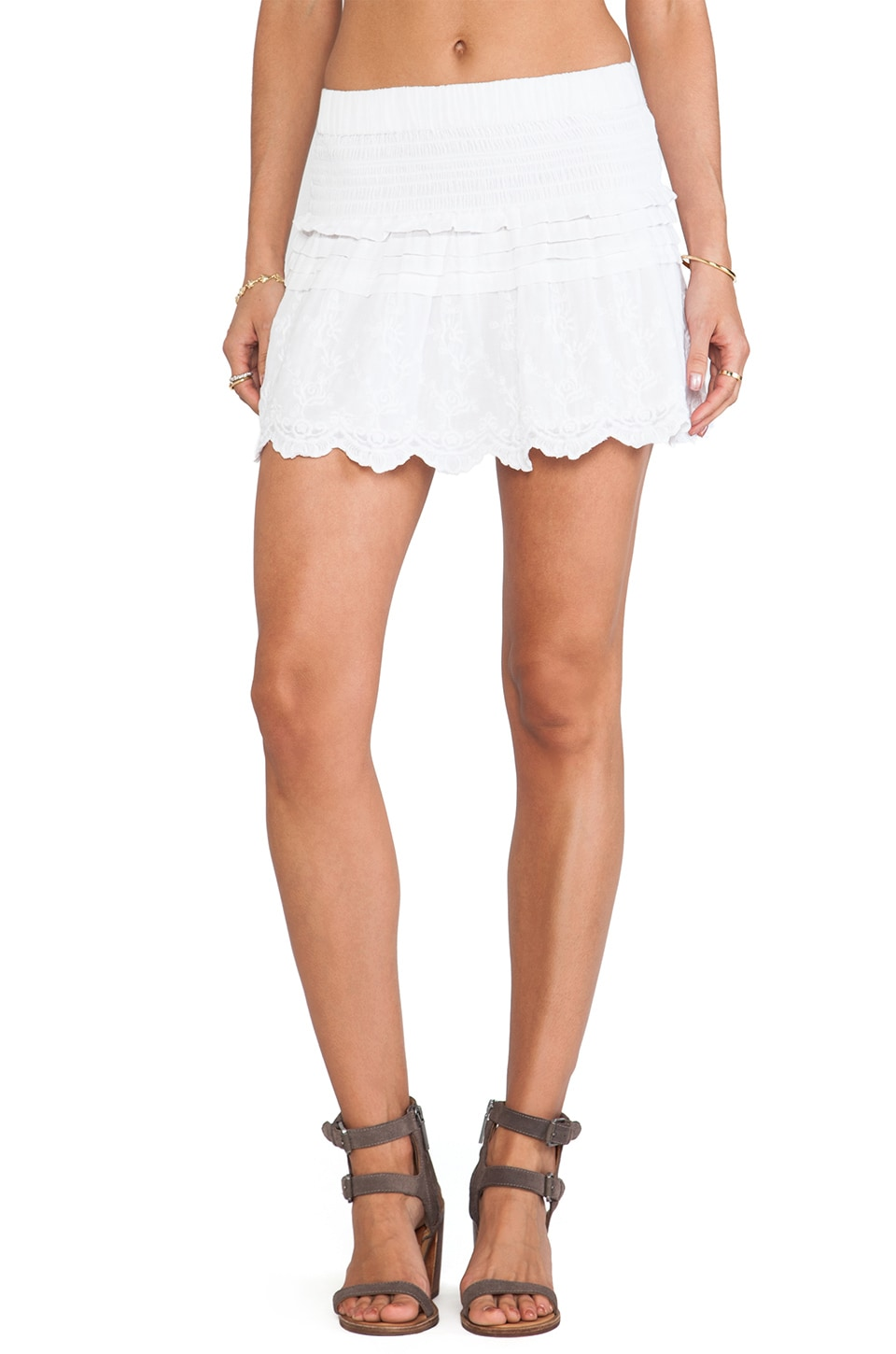 Joe's Jeans Liza Skirt in White
