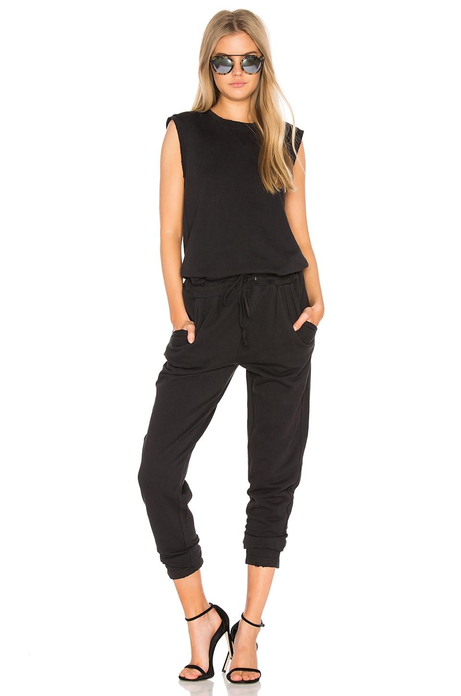 Joe's Jeans Marine Jumpsuit in Black
