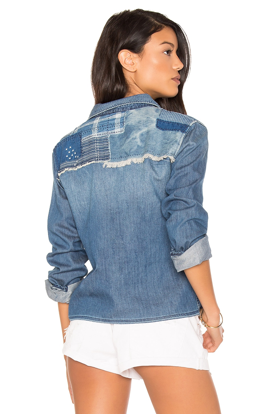Josie Crop Button Up by Joe's Jeans