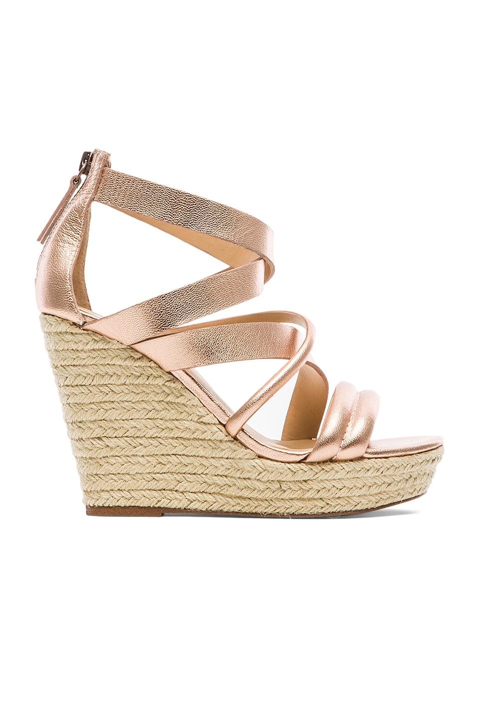 Joe's Jeans Robina Wedge in Copper