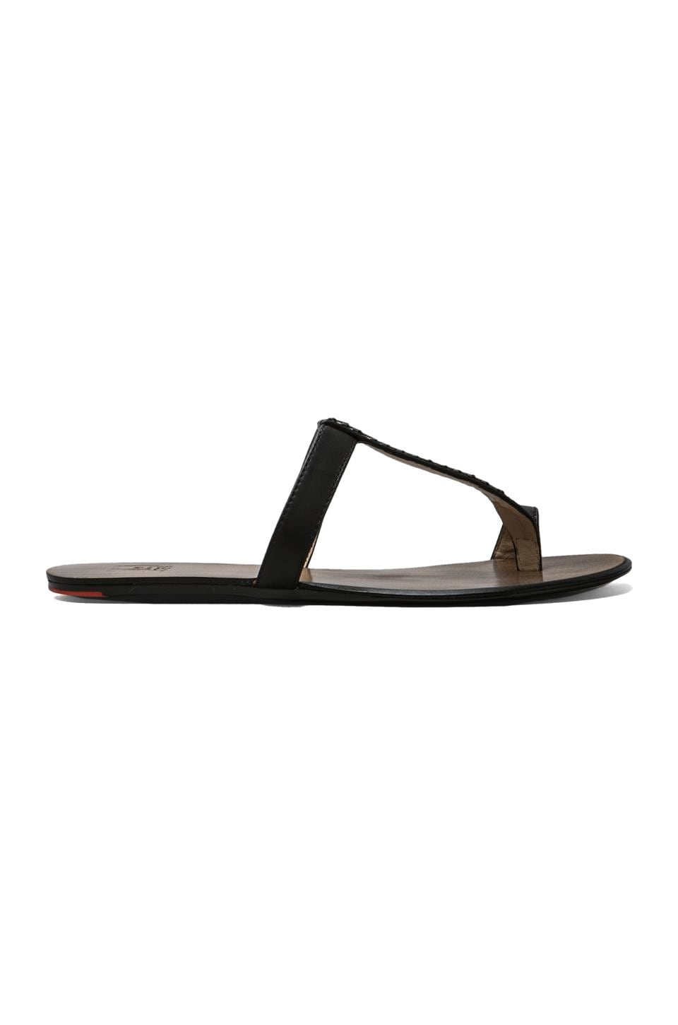 Joe's Jeans Katey Sandal in Black