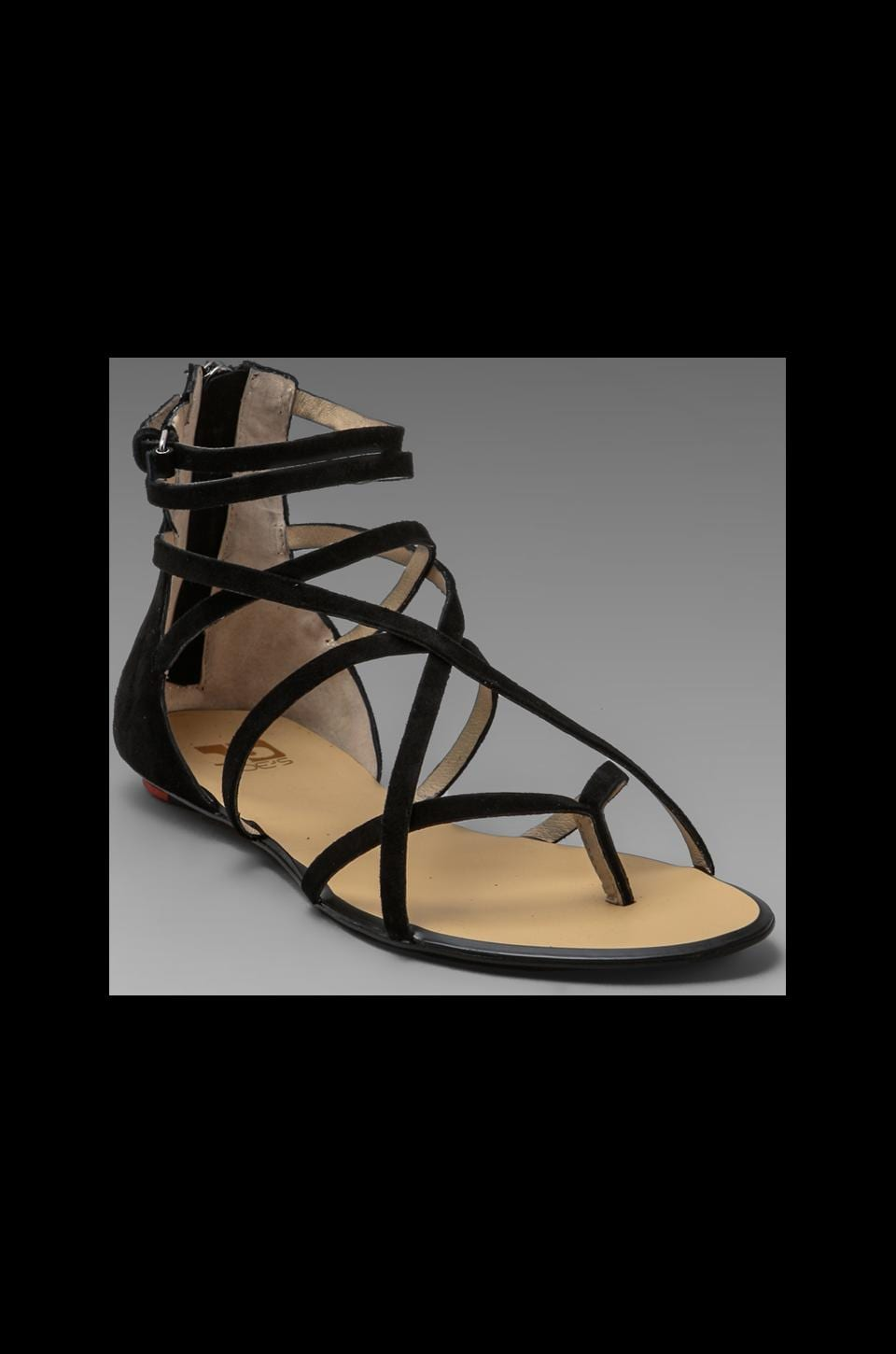 Joe's Jeans Keller Sandal in Black