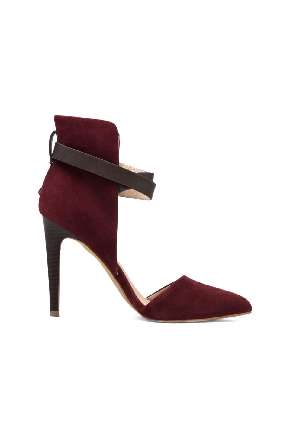 Joe's Jeans Laney Heel in Dark Red