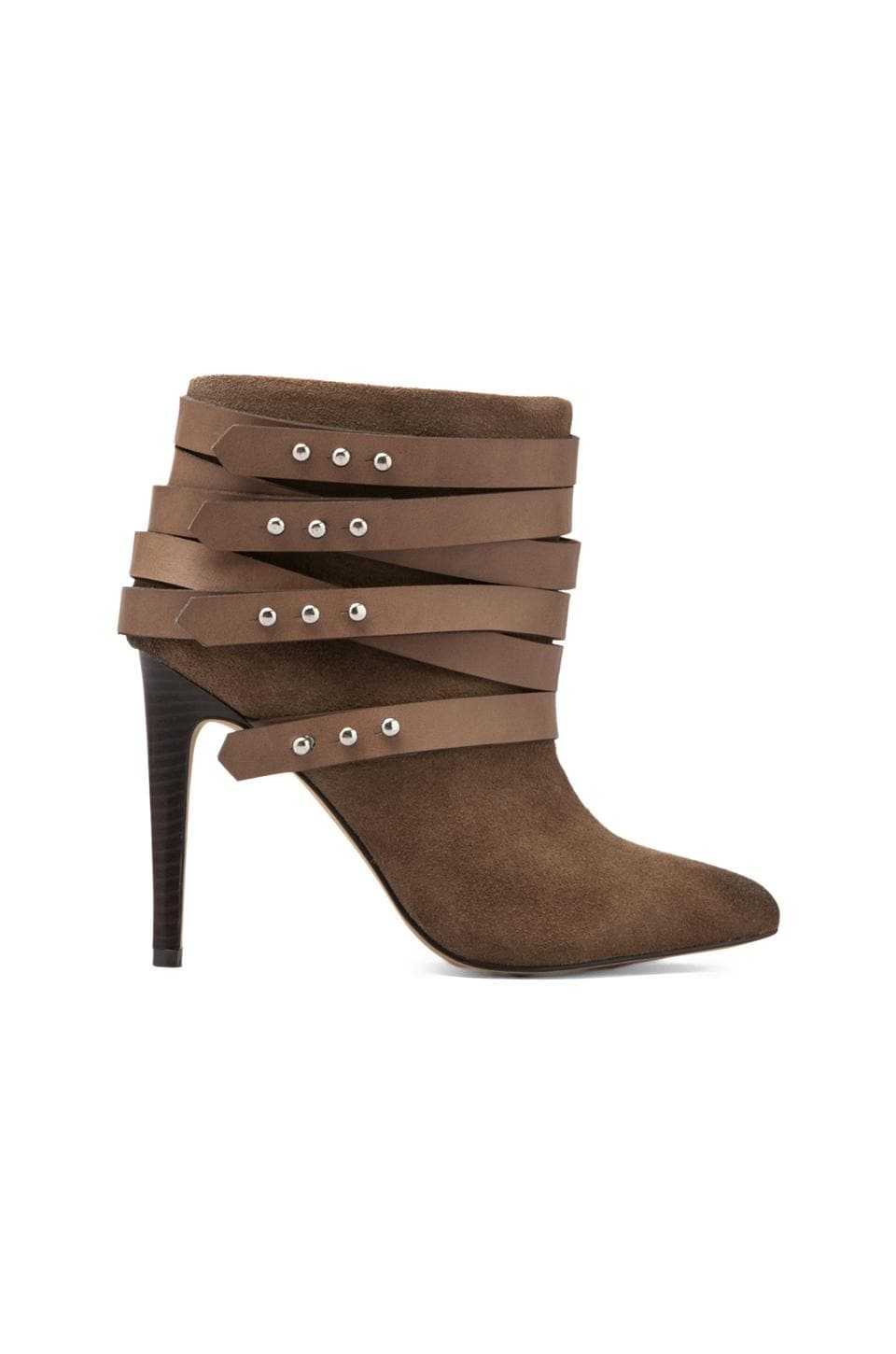Joe's Jeans Landry Bootie in Taupe