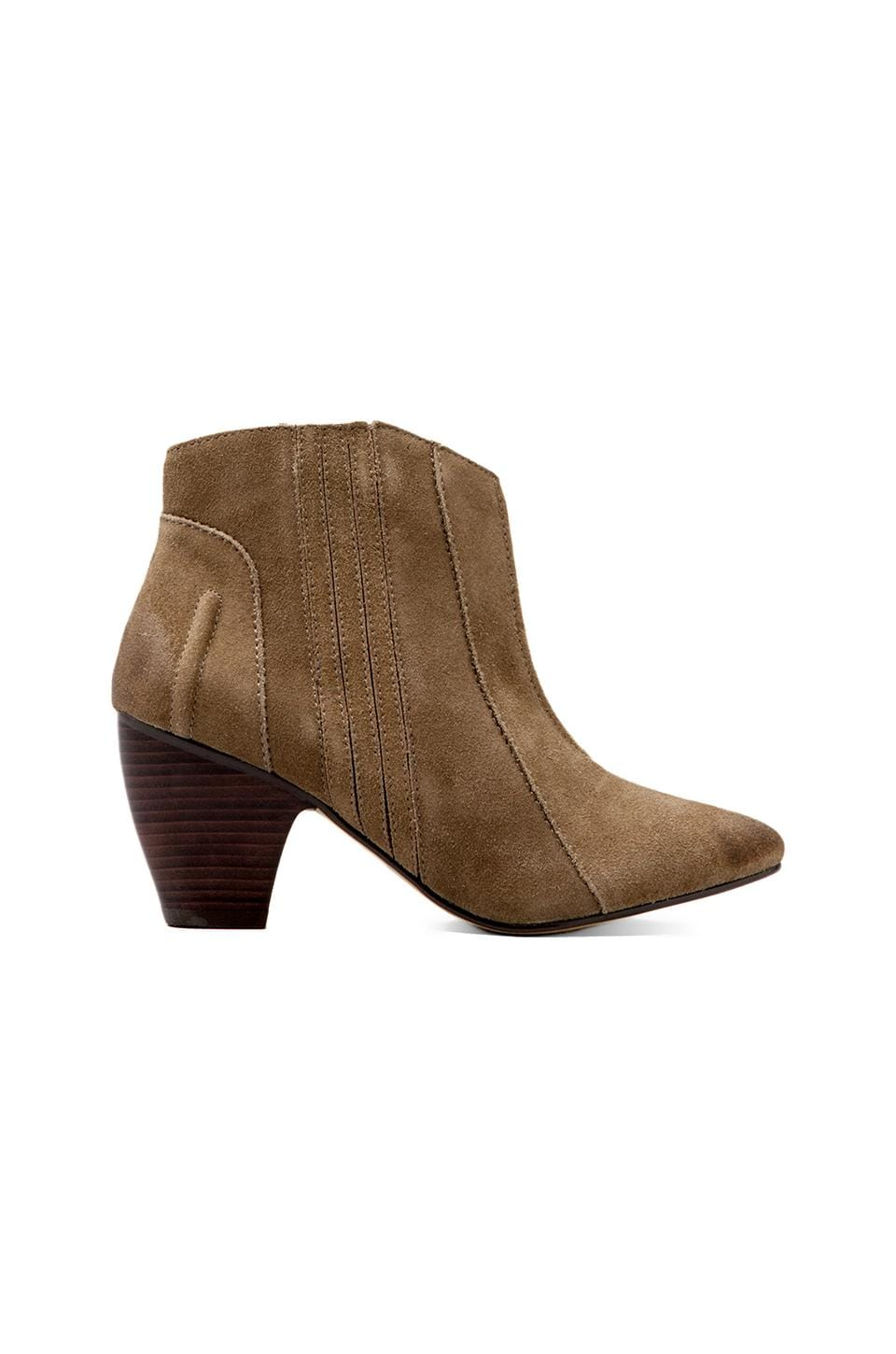 Joe's Jeans Sandy Ankle Bootie in Taupe