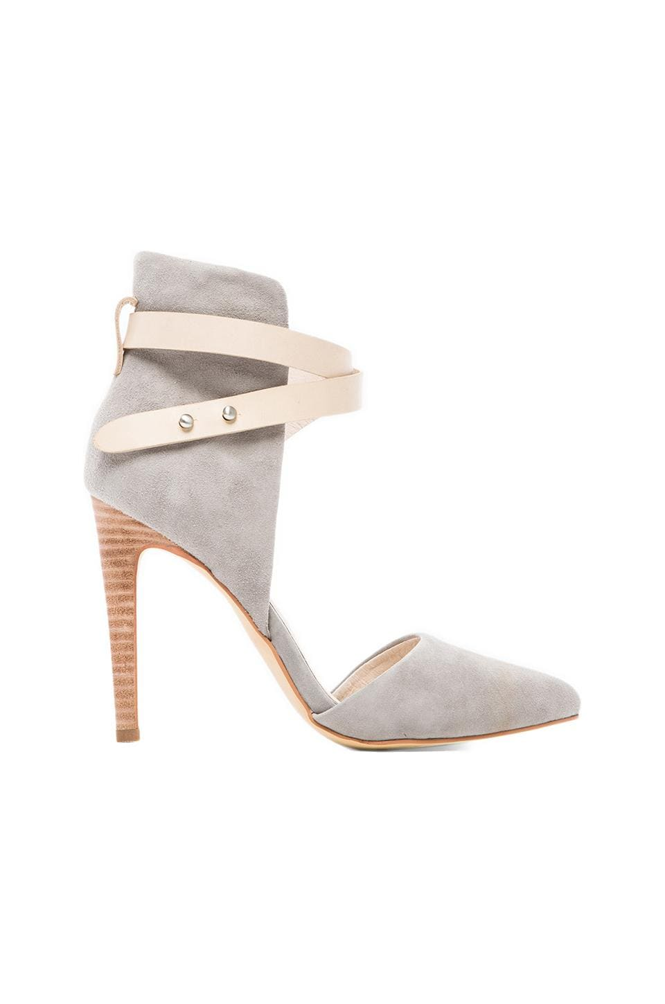 Joe's Jeans Laney Heel in Grey Suede