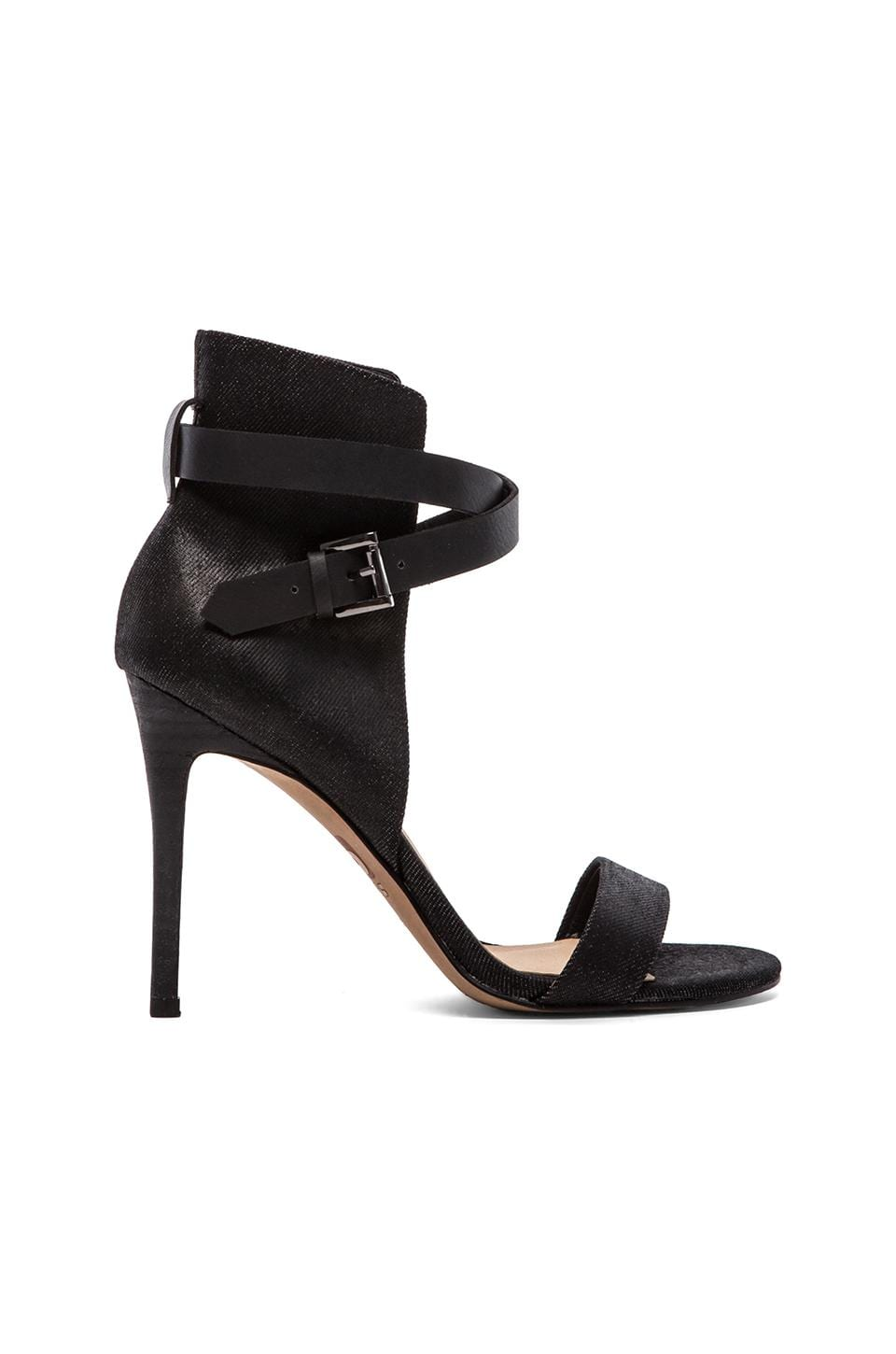 Joe's Jeans Macee Heel in Shiny Black