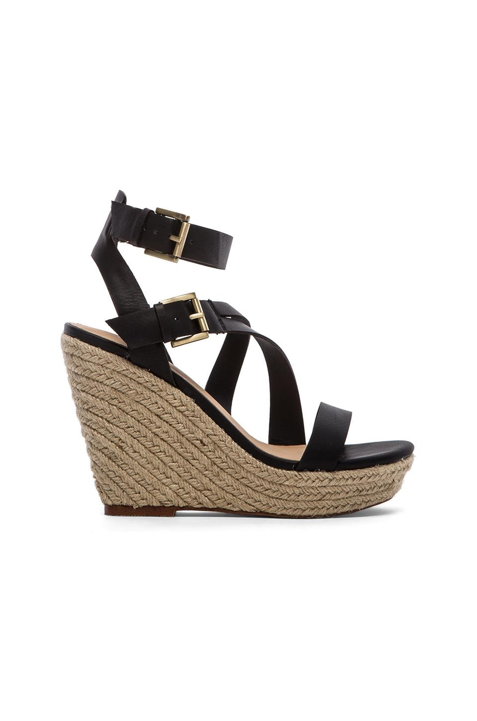 Joe's Jeans Mckayla Wedge in Black