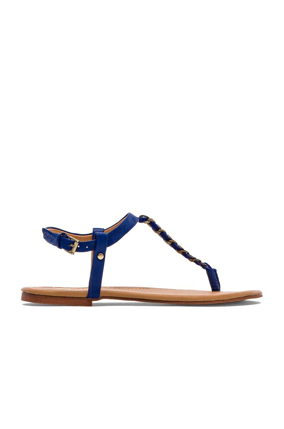 Joe's Jeans Eleanor Sandal in Cobalt Blue