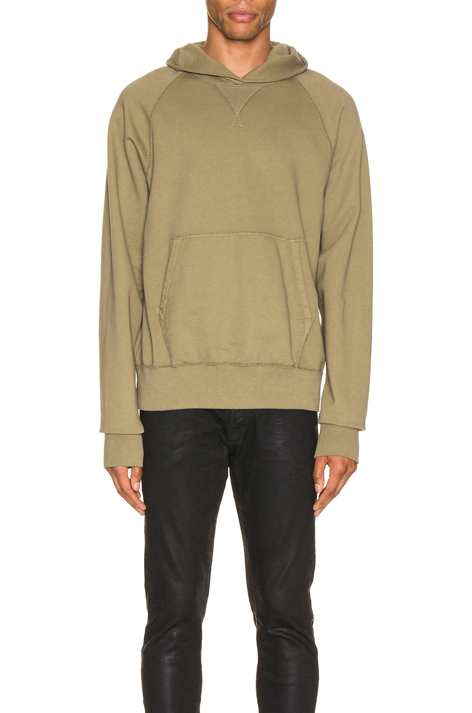 JOHN ELLIOTT Surplus Terry Hoodie in Spruce