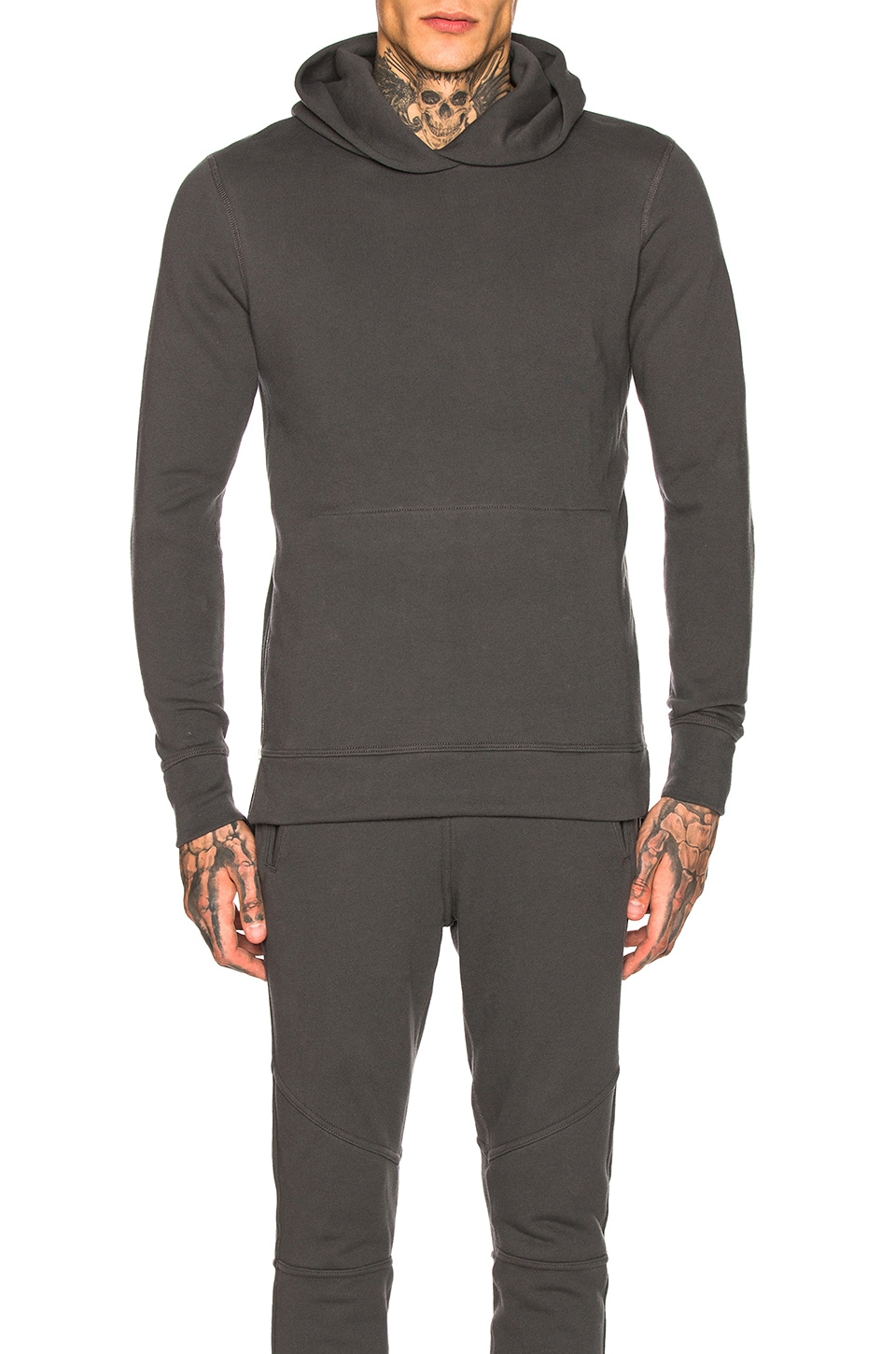 JOHN ELLIOTT Hooded Villian in Charcoal