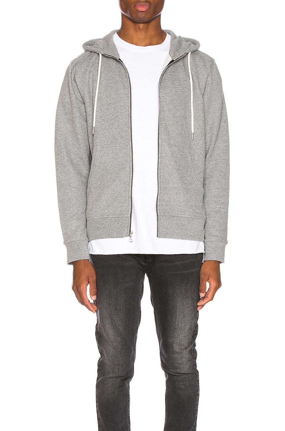 JOHN ELLIOTT Flash 2 Dual Fullzip in Dark Grey