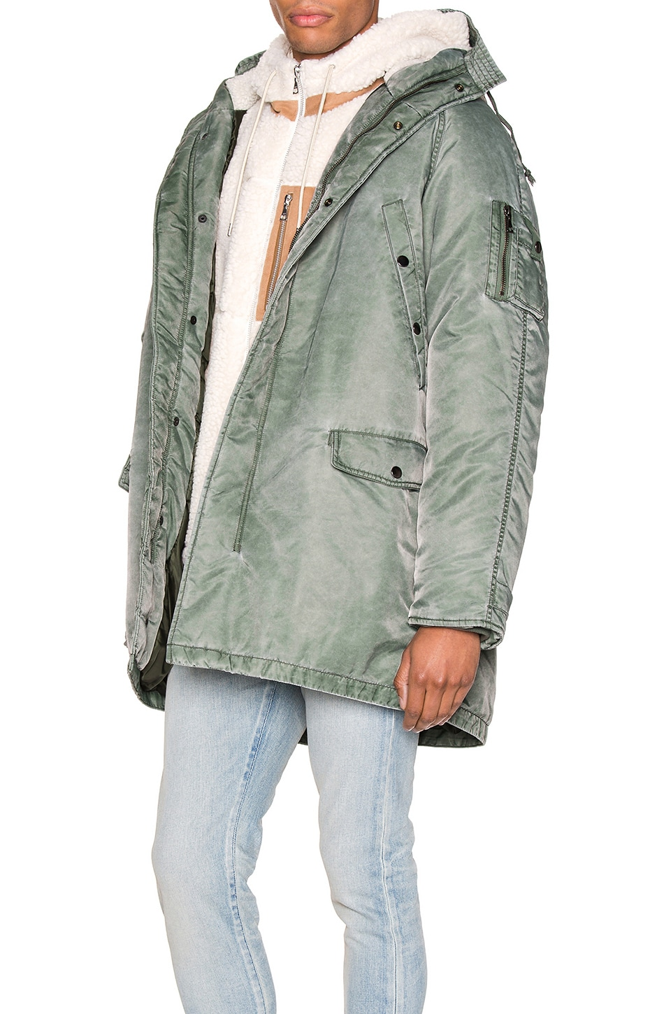 John Elliott Accessories Nicasio Parka