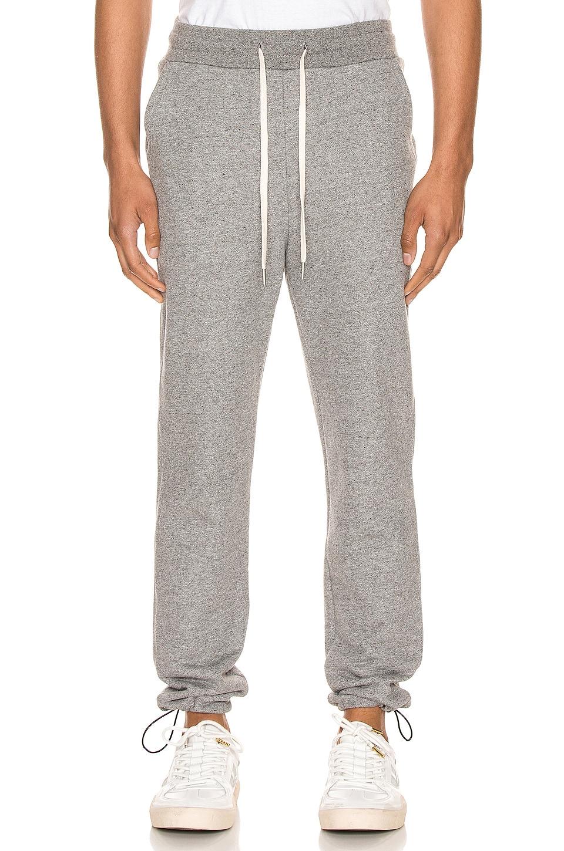 JOHN ELLIOTT Sochi Sweat Pants in Dark Grey