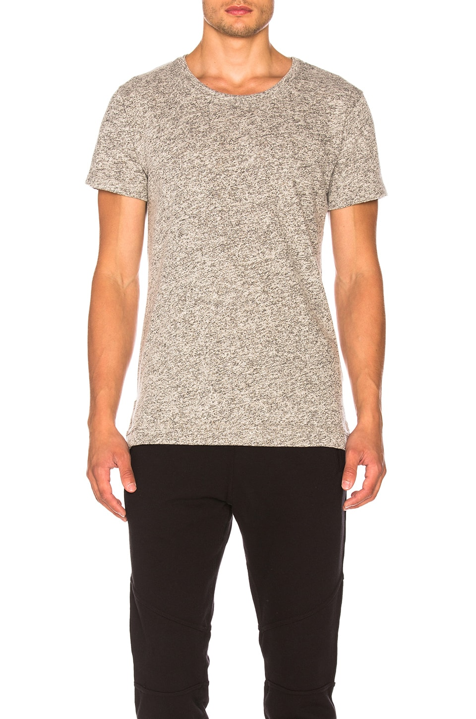JOHN ELLIOTT Mercer Tee in Co-Mix Grey