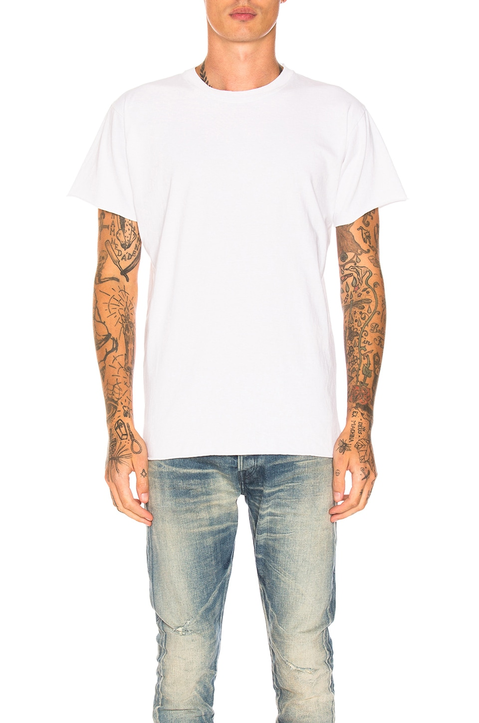 JOHN ELLIOTT Anti-Expo Tee in White