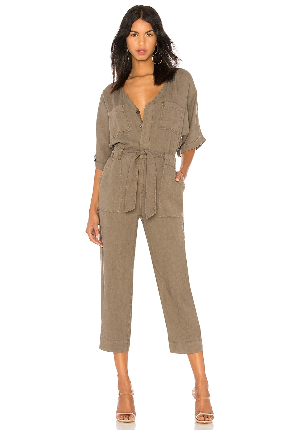Joie Frodina Jumpsuit in Fatigue
