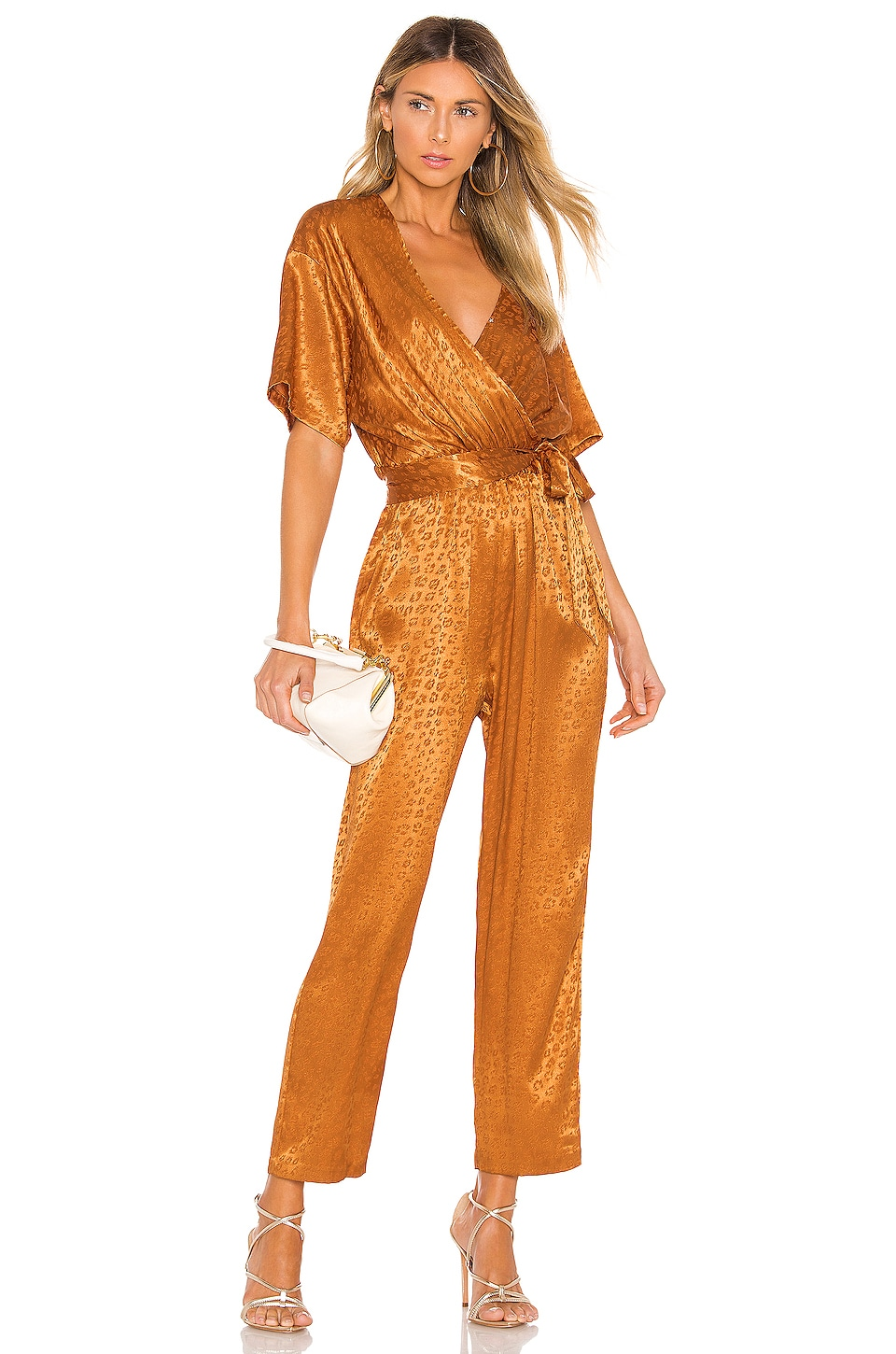 Joie Tau Jumpsuit in Copper