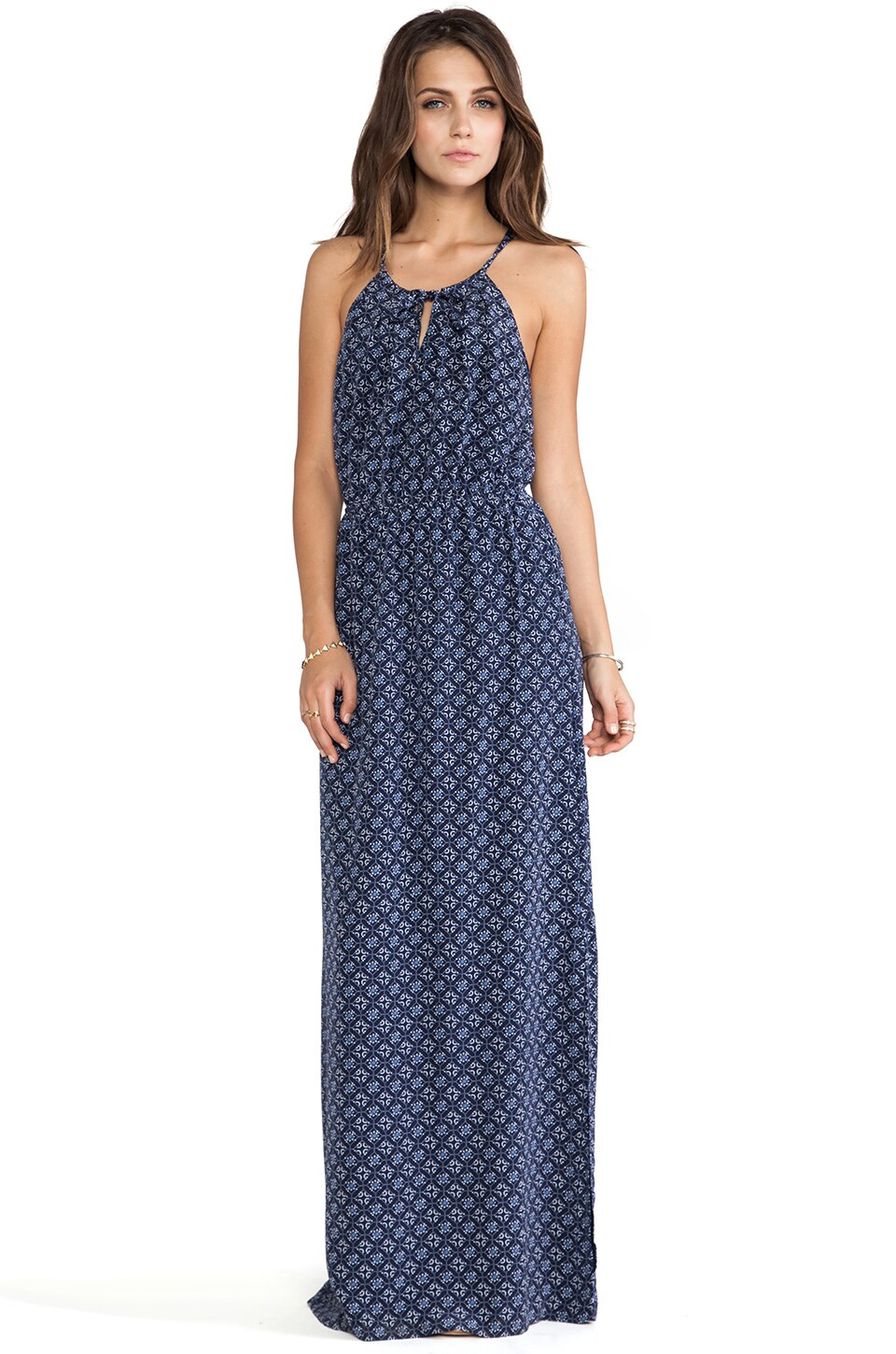 Joie Amaretta Maxi Dress in Dark Navy