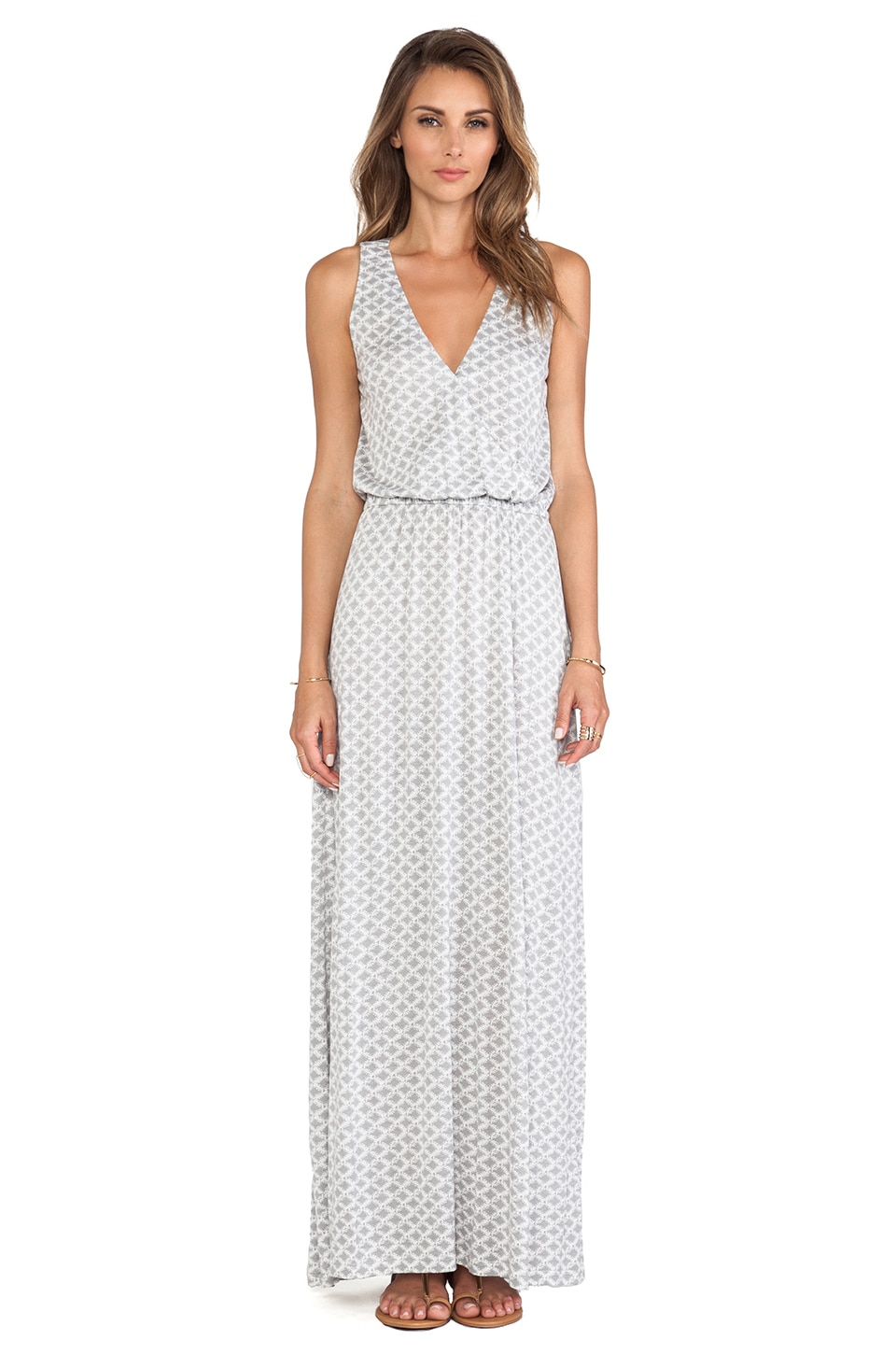 Joie Jaylen Maxi Dress in Silverfox