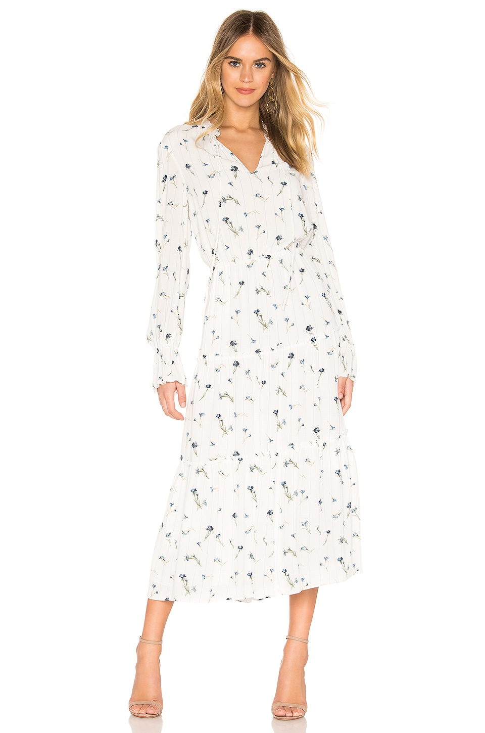 Joie Waneta Dress in Porcelain