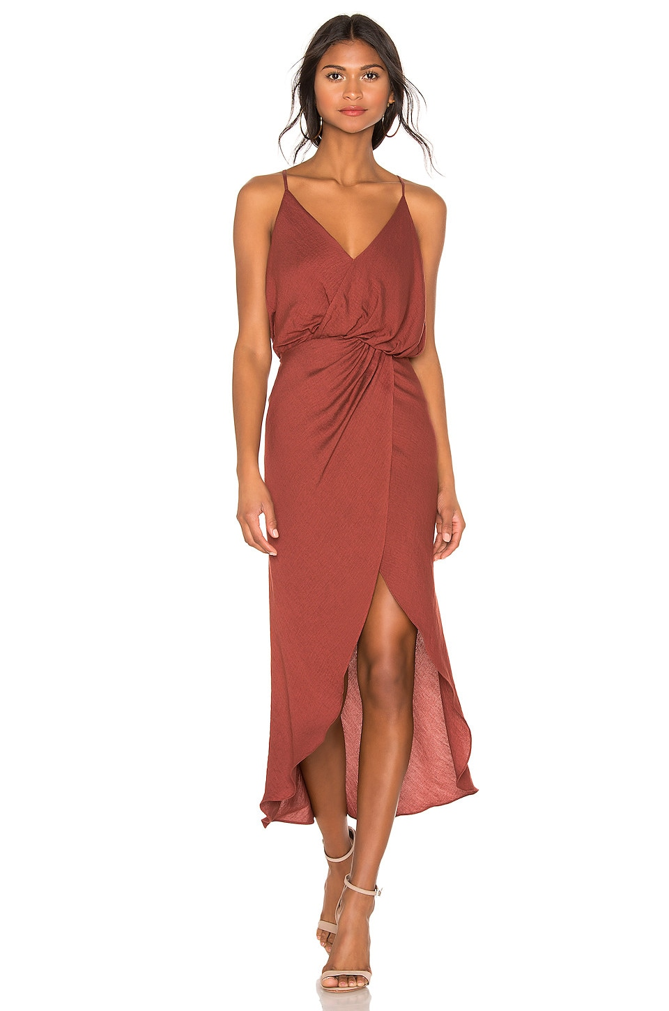 Joie Tanika Dress in Tawny