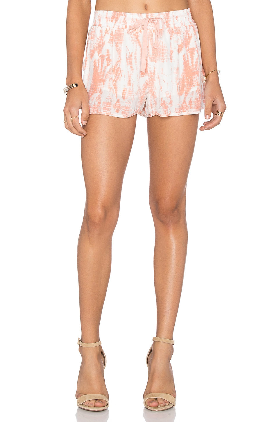 Joie Layana Short in Burnt Coral