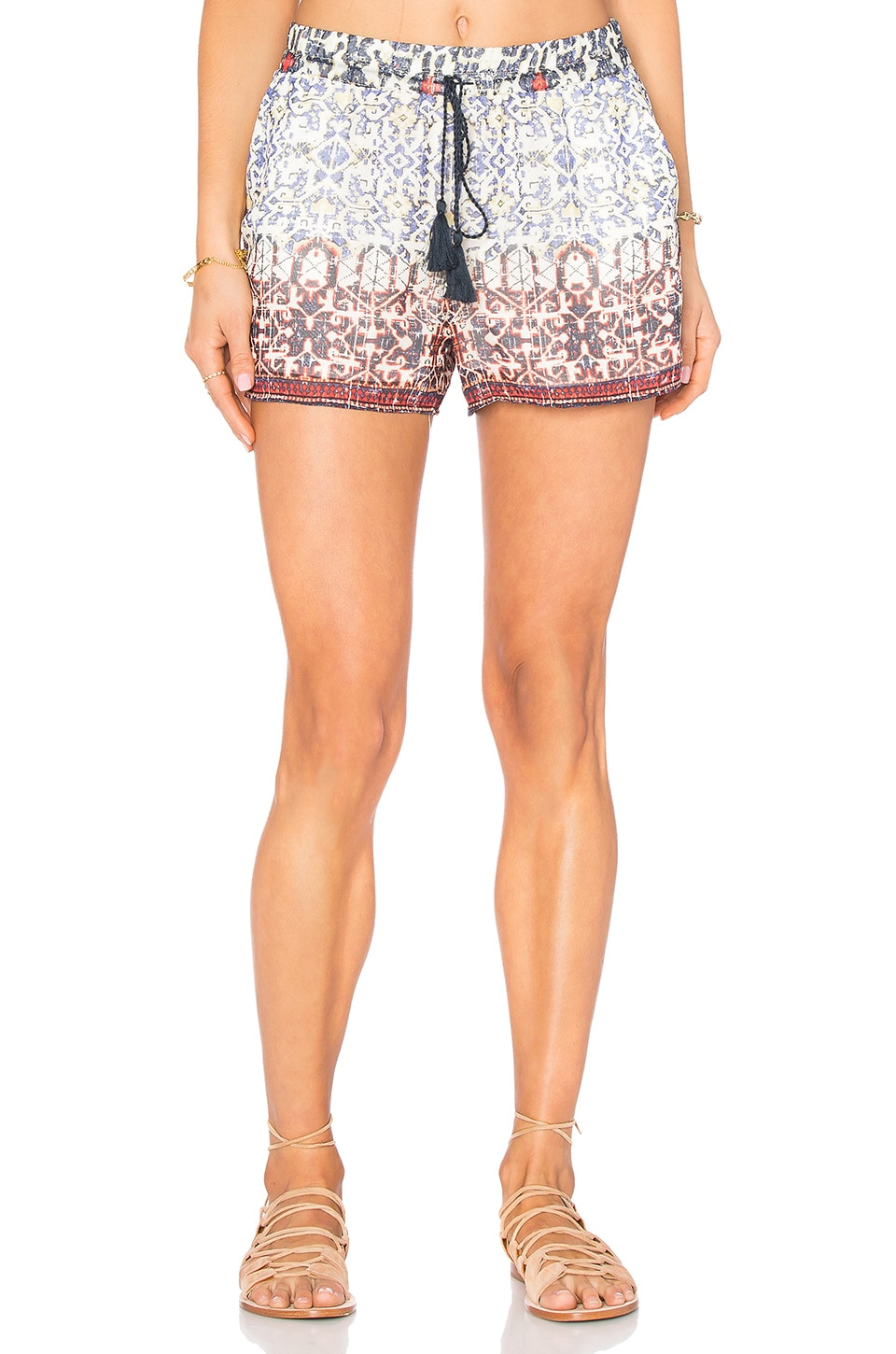 Joie Lindee Shorts in Blue Print