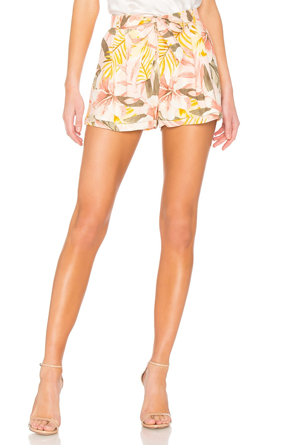 Joie Jaklynn Shorts in Dusty Nude