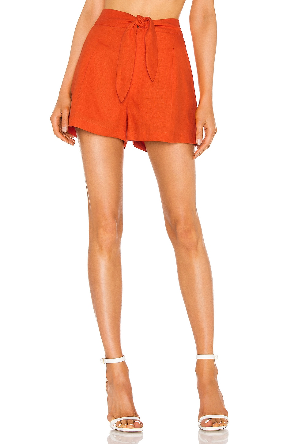 Joie Carden Short in Warm Terracotta