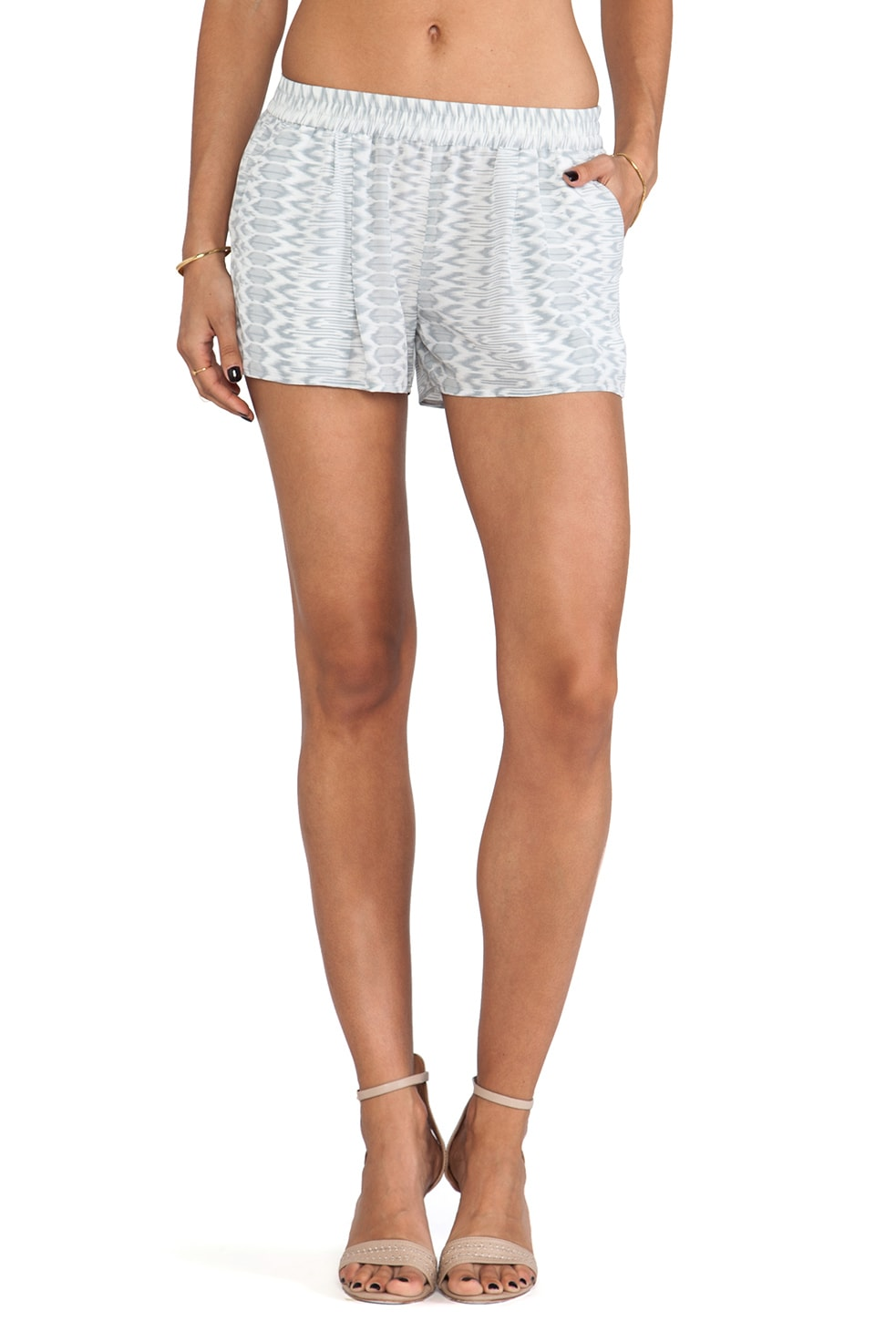 Joie Percier Shorts in Silver Fox