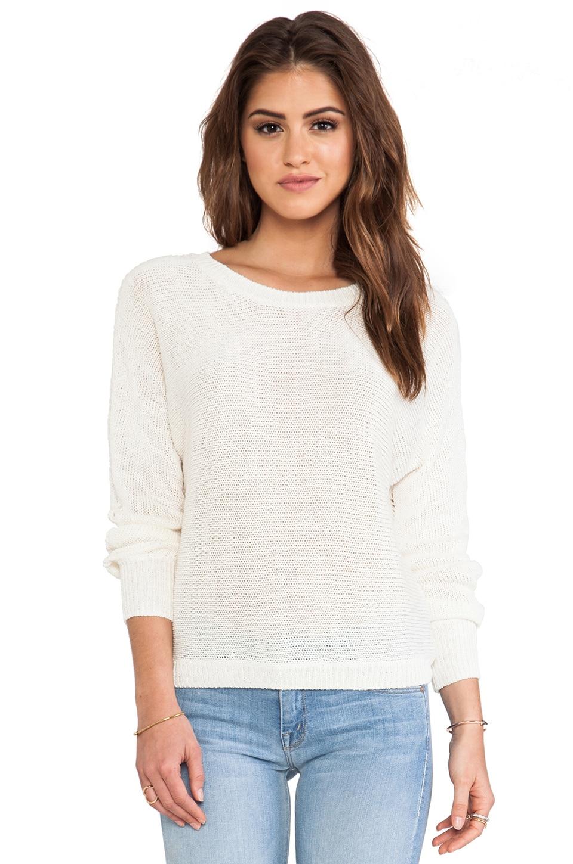 Joie Avici Linen Sweater in Porcelain