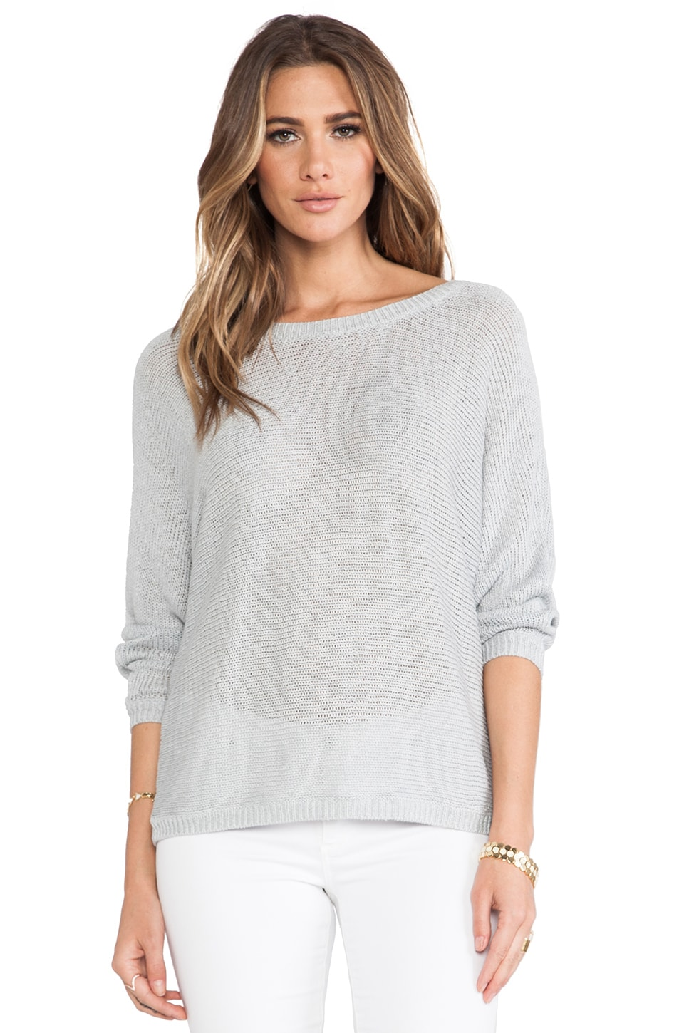 Joie Emilie Sweater in Silver Fox
