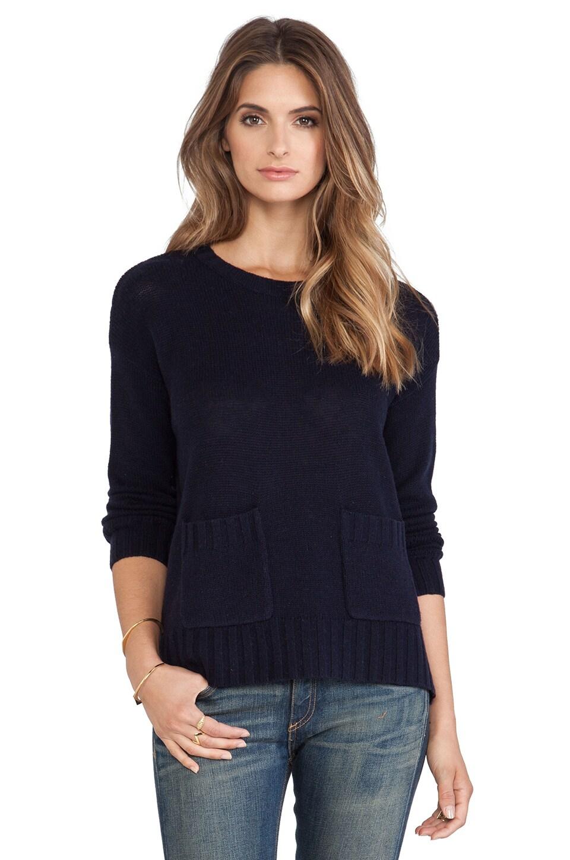 Joie Noam Sweater in Midnight Blue