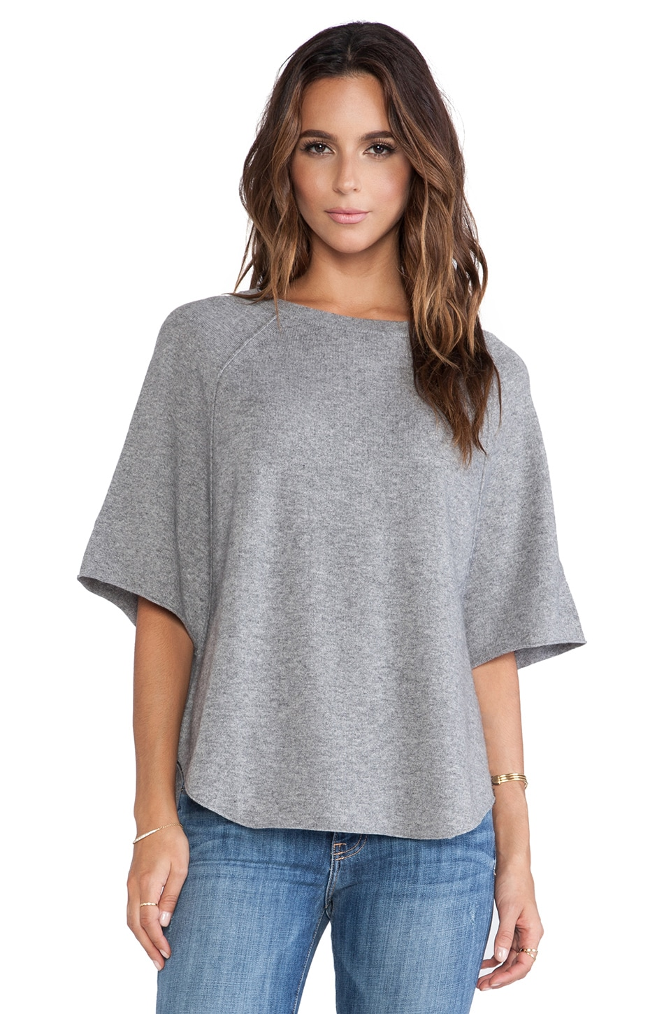Joie Jolena Sweater in Heather Grey
