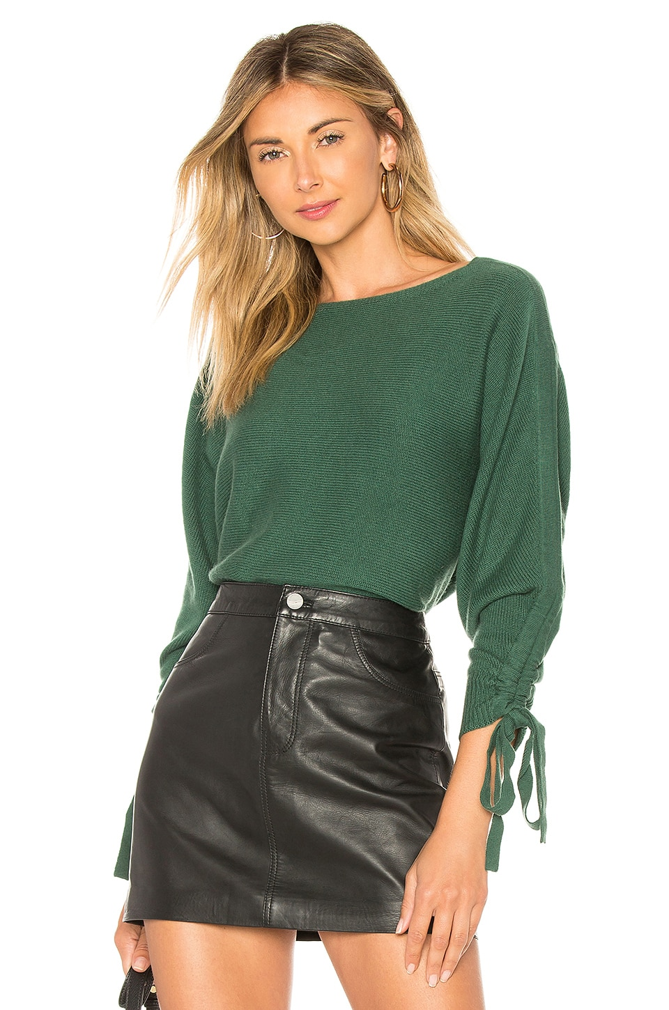 Joie Dannee Sweater in Hunter Green
