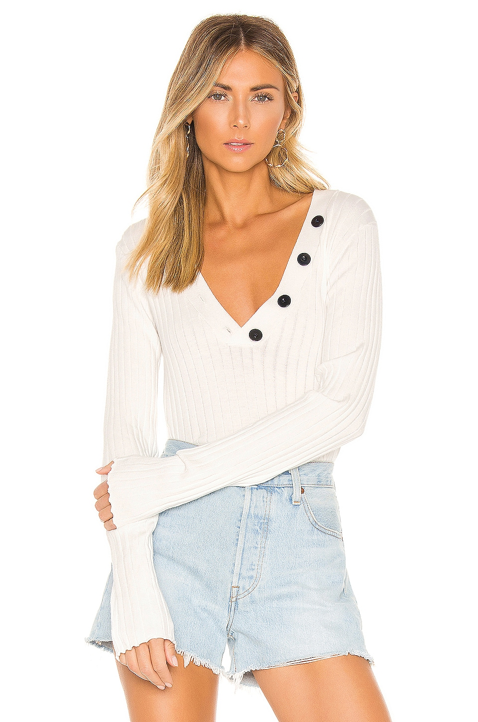 Joie Anatasia Sweater in Porcelain