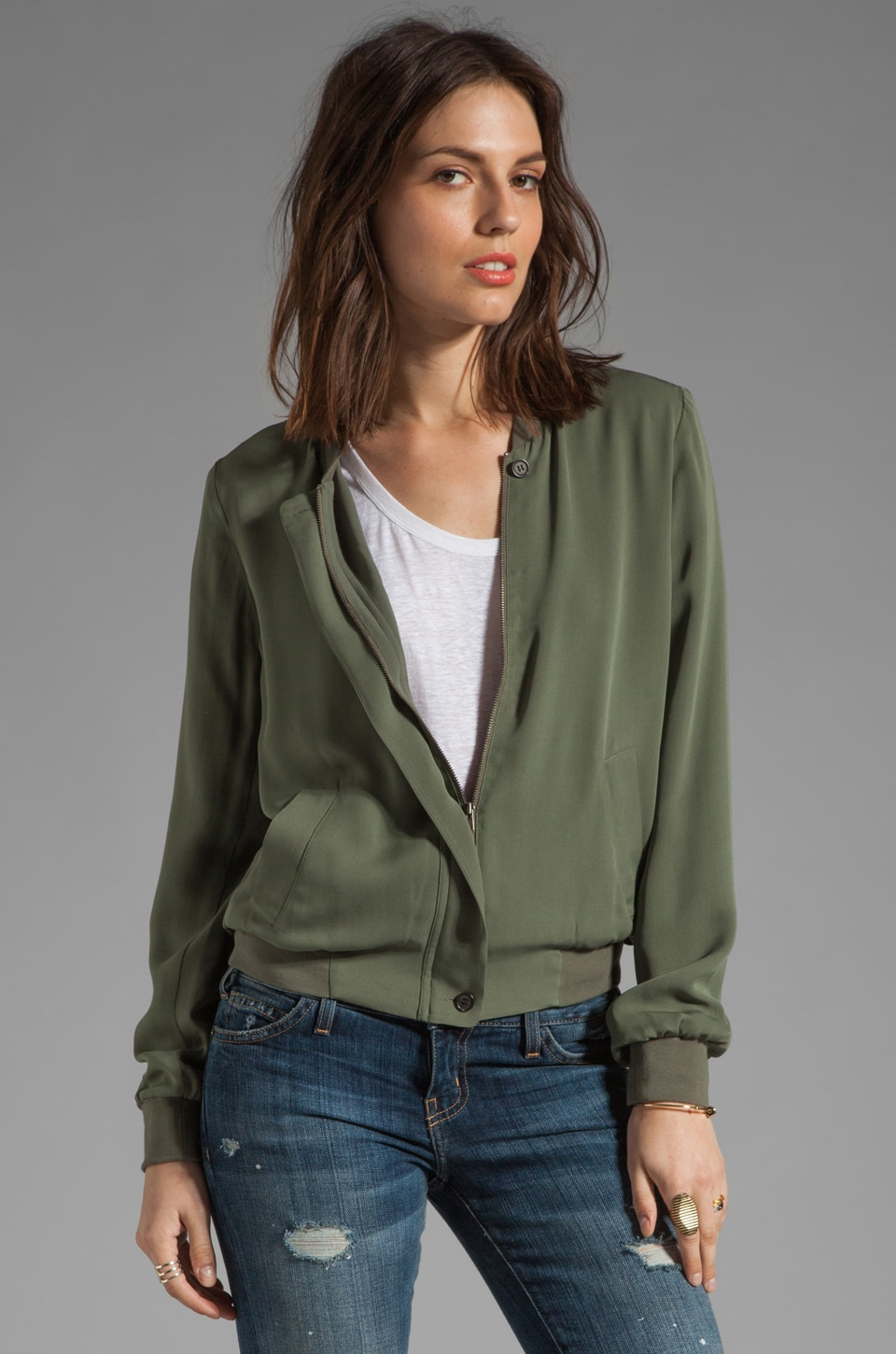 Joie Empire Jacket in Fatigue