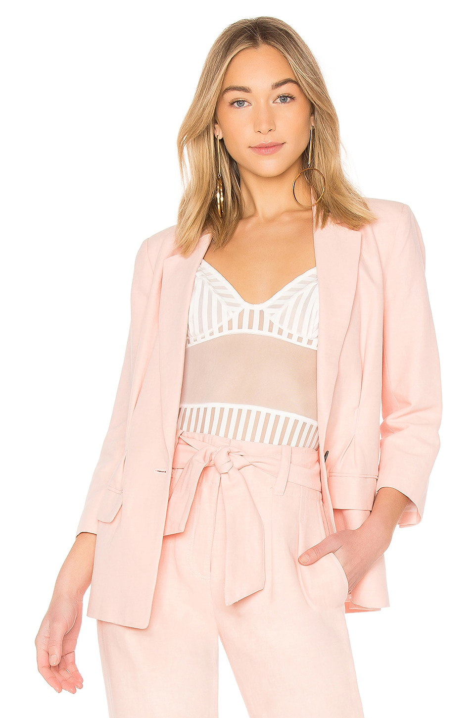 Joie Lian Blazer in Washed Rose