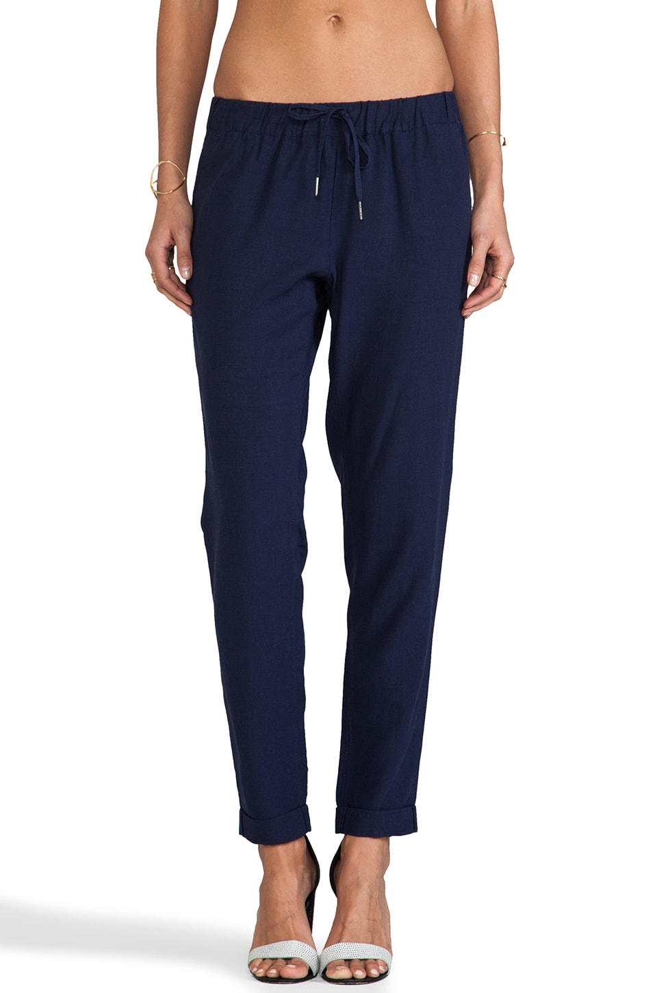 Joie Edana Pant in Dark Navy