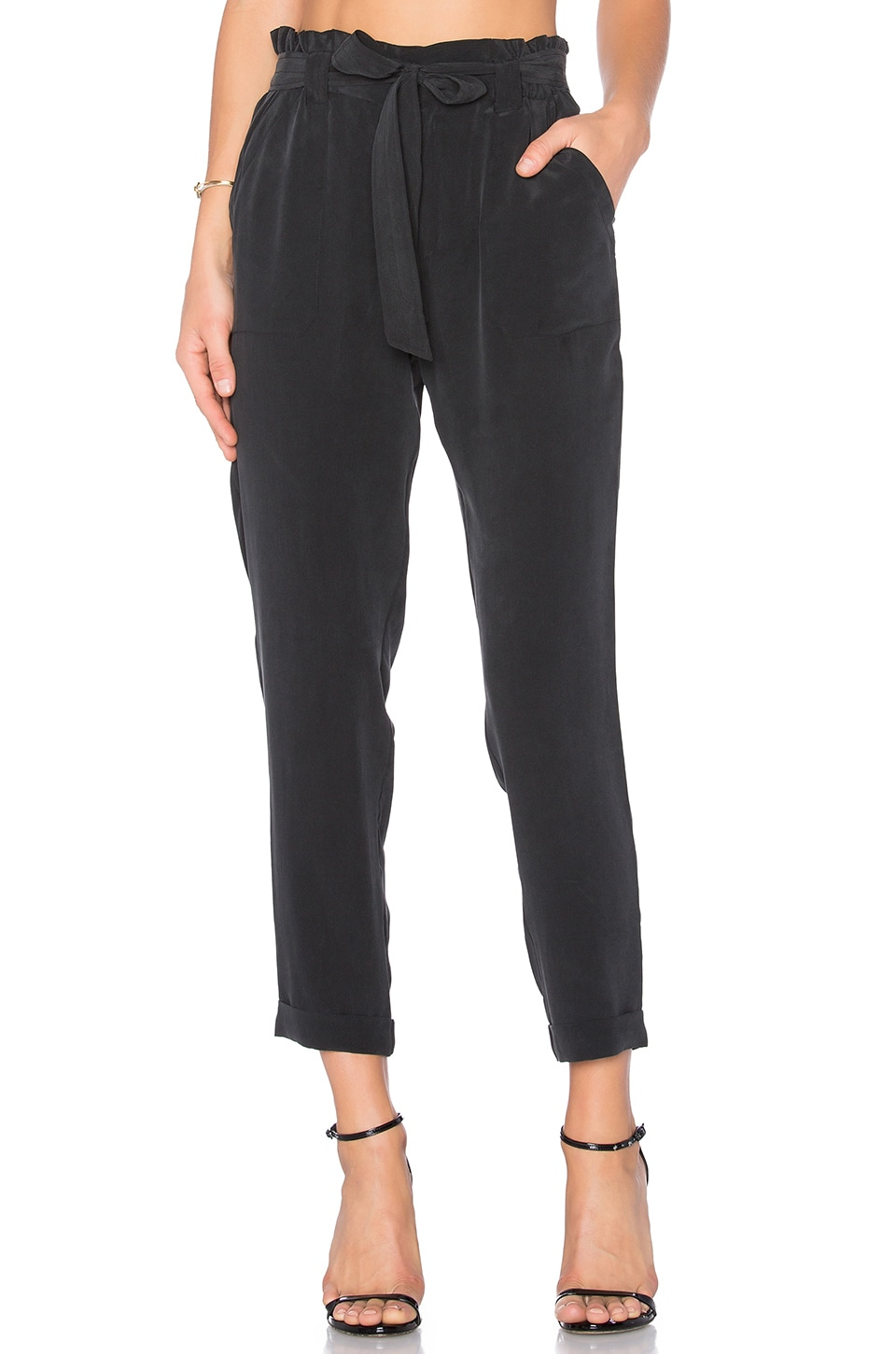 Joie Asuka Pant in Vintage Caviar