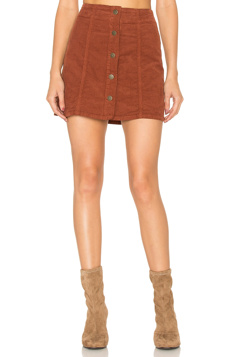 Joie Tilda Skirt in Rust