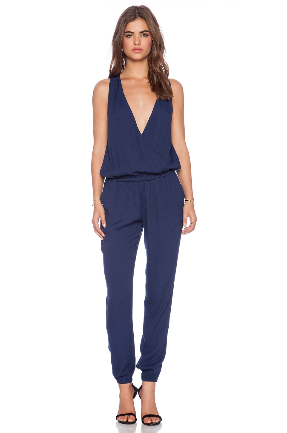 b21ca5ab5447 Joie Corinne Jumpsuit in Dark Navy