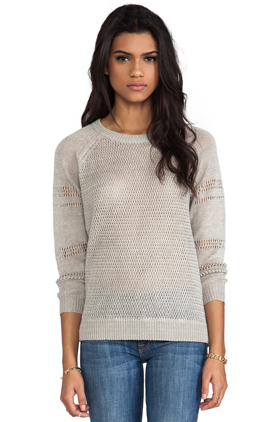 Joie Ronni Linen Pullover in Linen