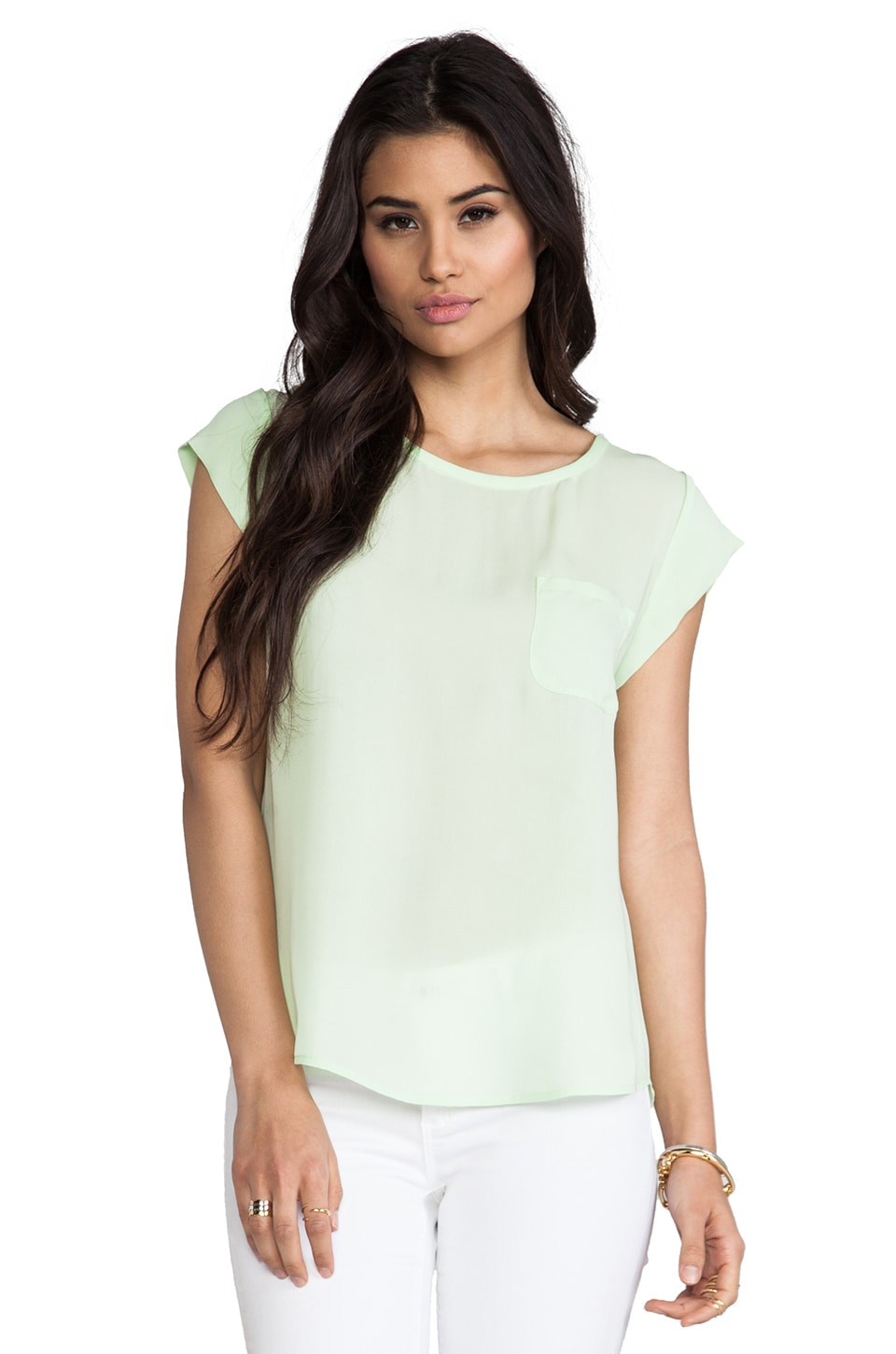 Joie Rancher Silk Top in Bright Meadow