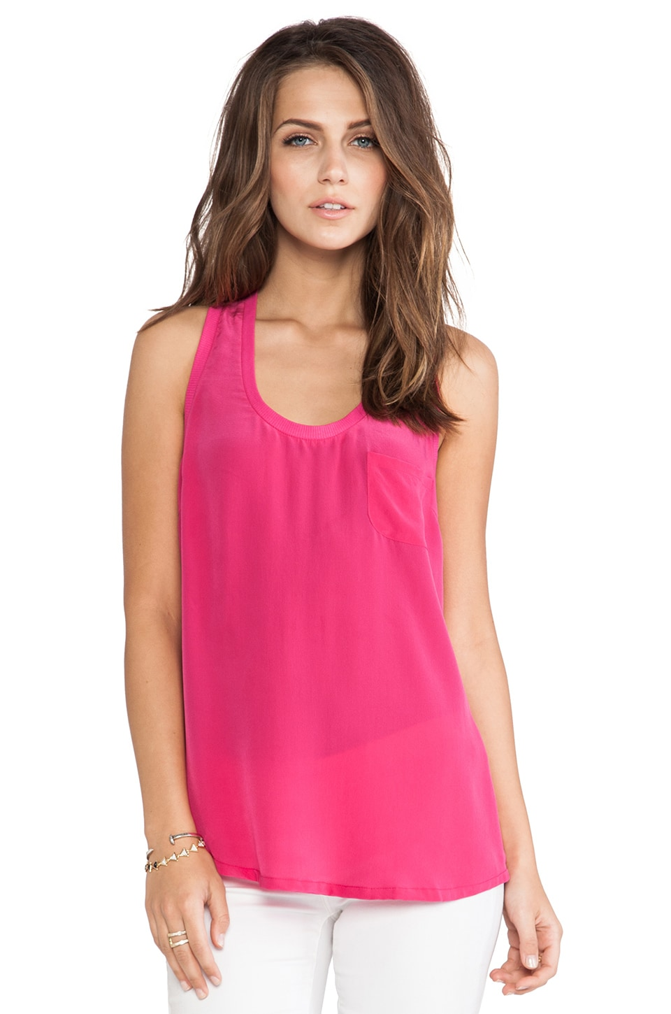 Joie Alicia Tank in Bougainvillea