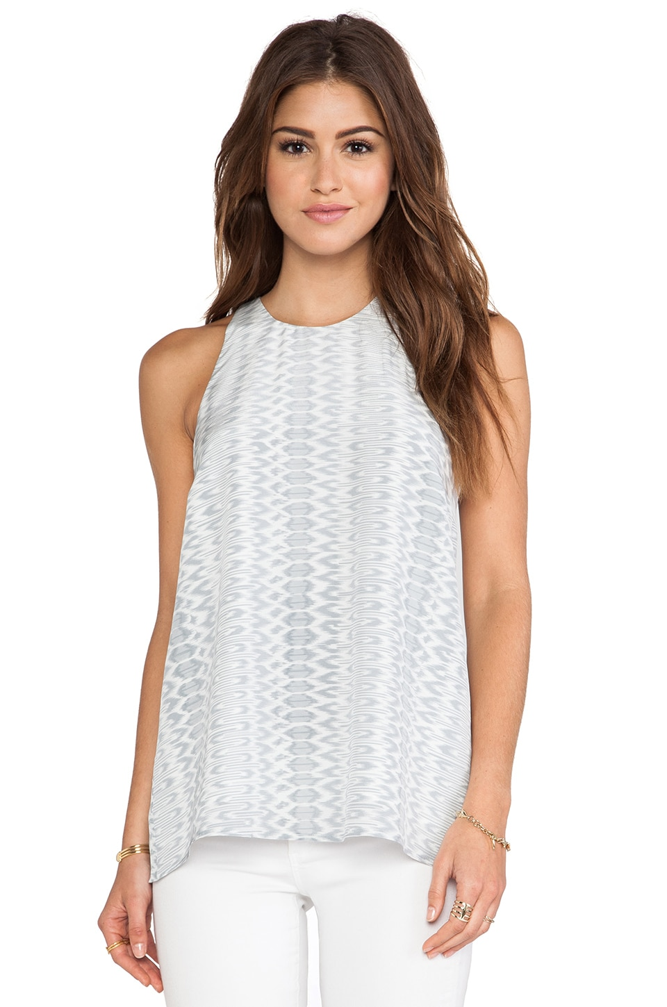 Joie Brighton Tank in Silver For
