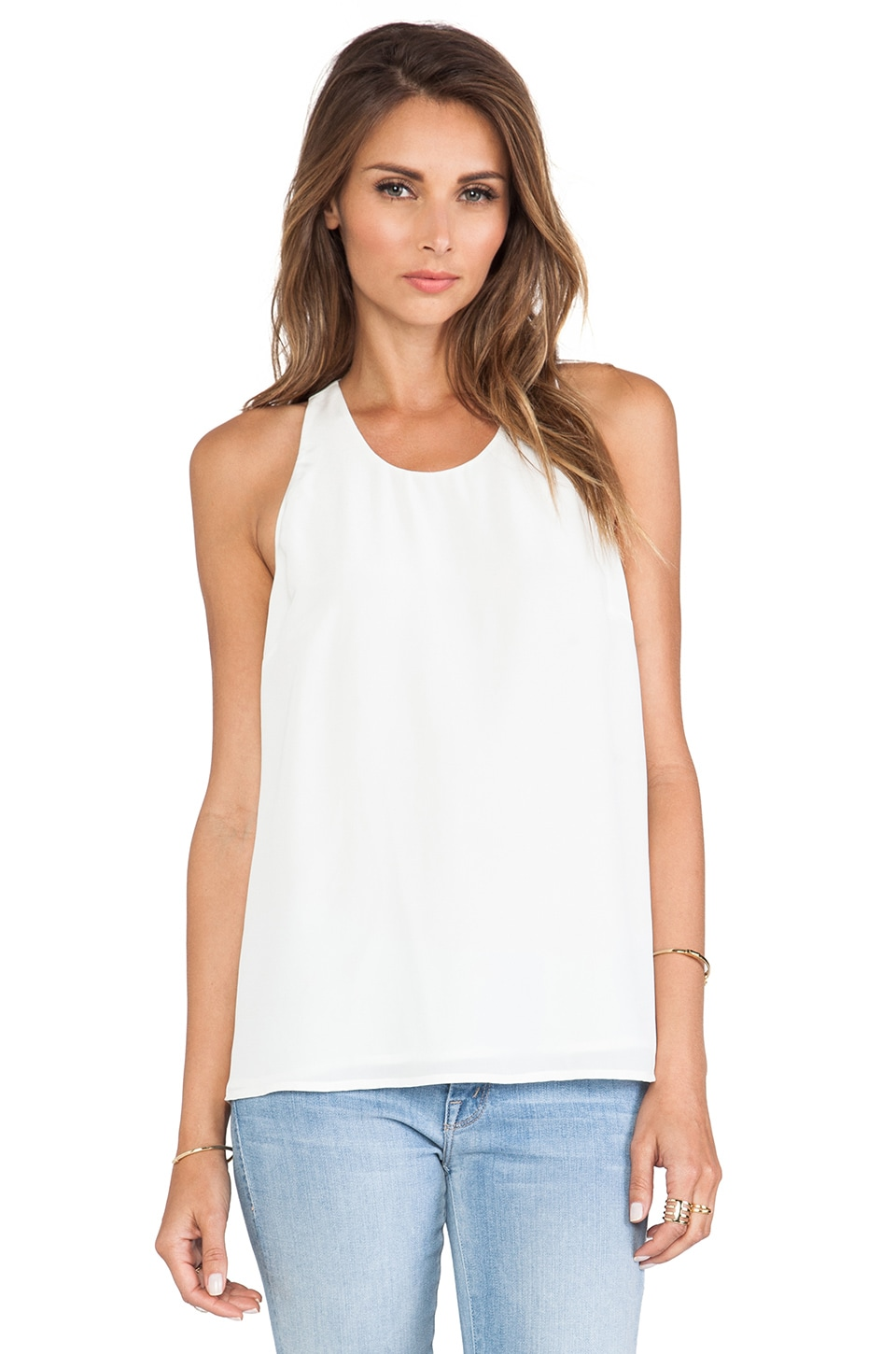 Joie Brighton B Tank in Porcelain