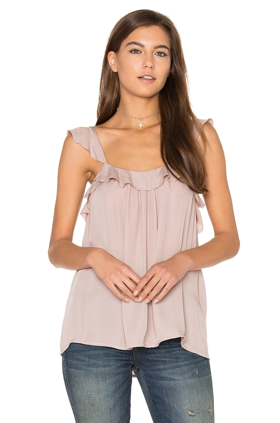 Petal Ruffle Cami by Joie